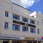 TIME TO RAISE THE CURTAIN: The Maxime Cinema as it appears today after a £1.5m redevelopment