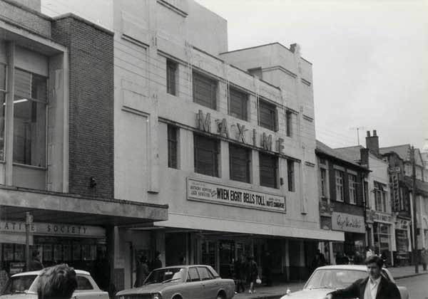 The Maxime Cinema pictured from days gone by Picture by Jeffrey Morris