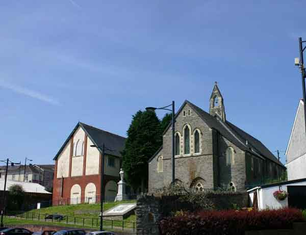 DEBT HELP: St Gwladys' Church and hall in Bargoed