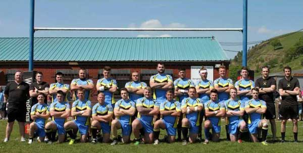 FINALISTS: The Senghenydd club are going for the title