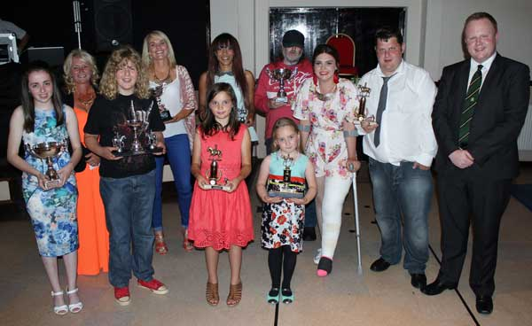 The winners of the Haylemma Centre awards