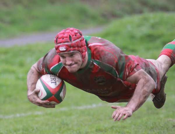 TOP MAN: Last season's Principality Premiership top try scorer Rory Budina remains at the Bridge Field club
