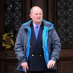 Sergeant Richard Evans outside Cardiff Crown Court