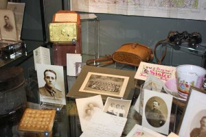 Personal artefacts from soldiers are on display at New Tredegar's Winding House Museum