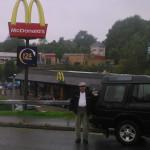 NOT LOVIN' IT: John Colliver was a regular customer at McDonald's in Blackwood until his fine