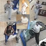 Gwent Police released CCTV images of the incident at Lidl Ystrad Mynach
