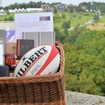 The basket full of Welsh gifts