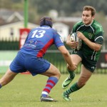 Will Worthington scored Caerphilly's all important try
