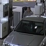 Police would like to speak to this woman in connection with a fuel theft from Morrisons in Bargoed