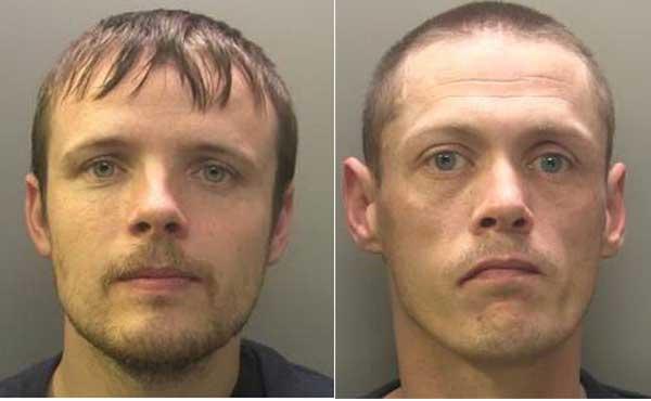 Gavin Harris (left) and Raymond Ball were jailed for life for murdering Stephen Lambert