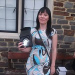 LEARNER TO VOLUNTEER: Penny Roberts with her award