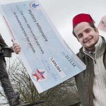 Llanbradach Lotto winner Alun Jones is on the hunt for Caerphilly's mystery £1.8m jackpot winner