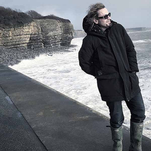 ON THE LOOKOUT: Producer Kurt Sutter has been in Wales looking for filming locations