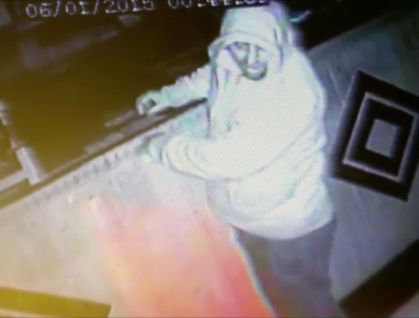 A CCTV image from the Taste of India in Pentwynmawr