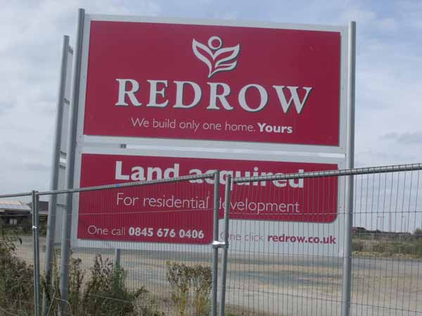 HOUSEBUILDING: Redrow have applied for planning permission. Picture by Elliot Brown