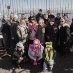 NEW YORK, NEW YORK: The students from Coleg Gwent