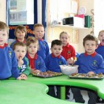 FAIR FLAVOURS: Trinant Primary School pupils made cakes with Fairtrade chocolate