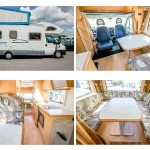 The motorhome that was stolen from outside a property in Penyrheol