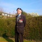 REMEMBER: John Wintle displays his medals