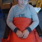 HEROIC: Ten-year-old Liam Hardacre