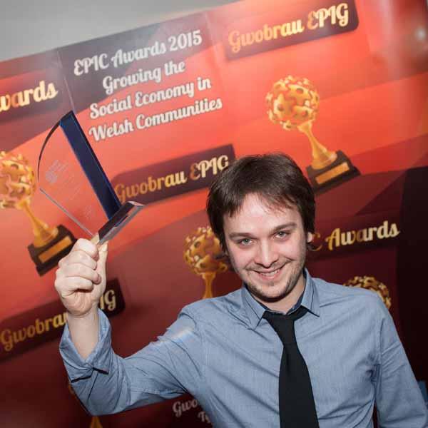 AWARD: Musician Daniel Fitzgerald has been named Social Entrepreneur of the Year