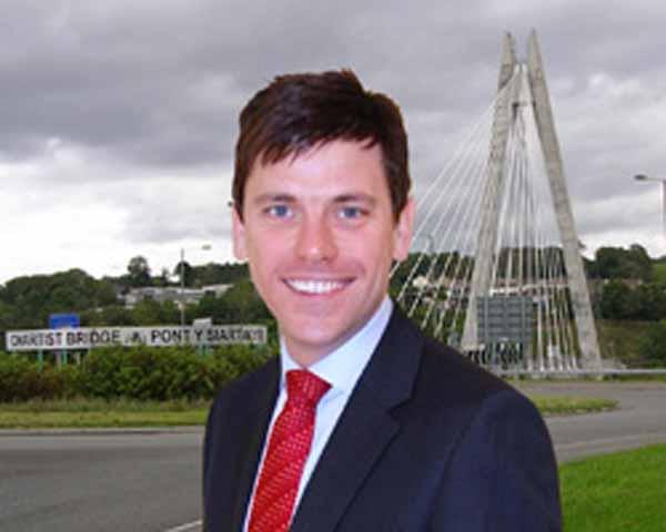 Islwyn MP Chris Evans