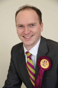 UKIP Caerphilly chairman Sam Gould
