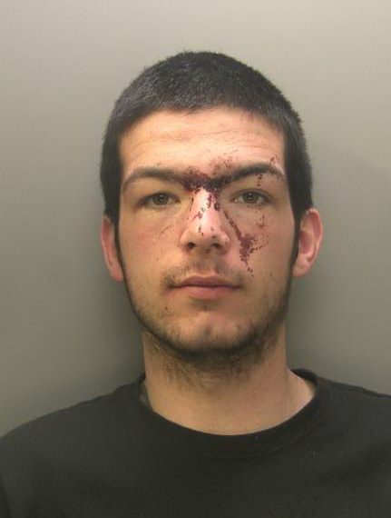 JAILED: Adam Mackie was sentenced to eight years in prison