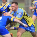 BRUTE FORCE: Aber Valley Wolves were to strong for Cardiff City B