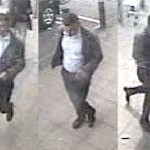 Police want to speak with this man in connection with the theft of a bank card in Caerphilly's Asda store