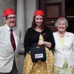 LIFESAVER: A defibrillator was donated to Blackwood Miners' Institute