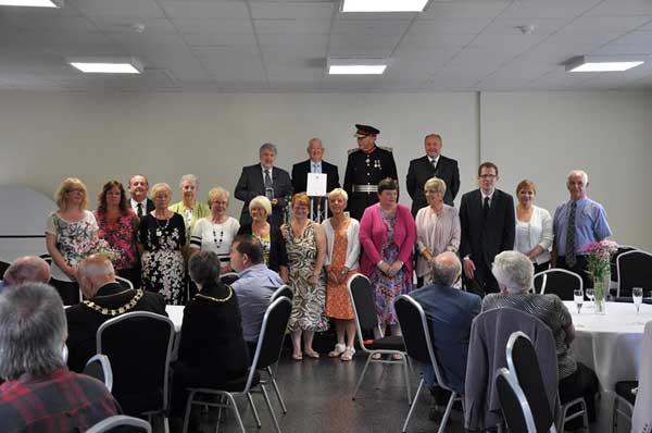 Senghenyddd memorial volunteers presented with prestigious ...