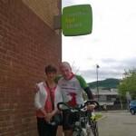 TEAM: Rita and Christopher Daniel at Caerphilly Job Centre