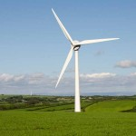 CASH GENERATOR: A wind turbine similar to this could soon be a sight in Senghenydd