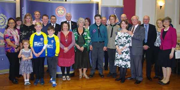 DONATION: Charities thank the Masons