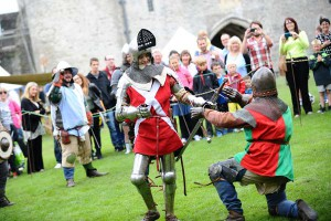 There will be plenty to do at Caerphilly Castle this half-term