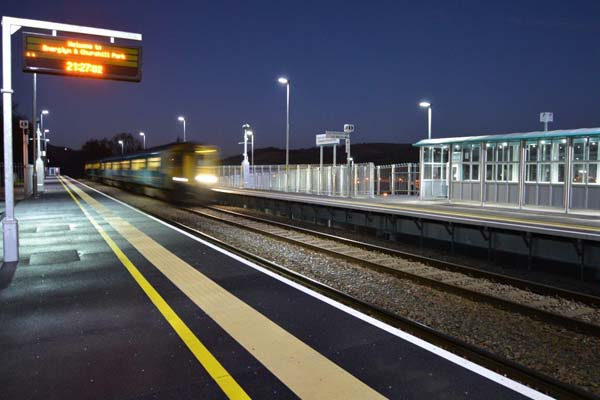 Further trains will not be stopping at Energlyn and Churchill Park, Lindsay Whittle AM has been told