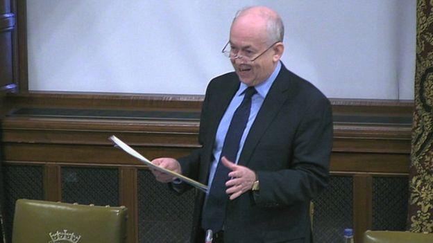 DEMAND: Caerphilly MP Wayne David during the Westminster Hall debate