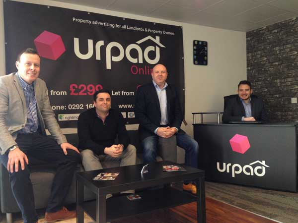 Urpad has set up offices in Caerphilly town