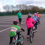 Caerphilly Cycling Club will coach children in techniques of road cycling