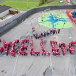Cwmfelinfach Primary School was praised by Estyn inspectors
