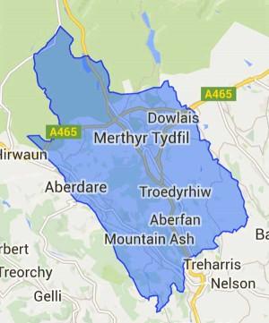 Merthyr Tydfil and Rhymney constituency