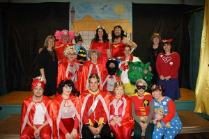 The stars of this year's pantomime