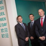 (Left to right) Stuart McAllister, Sales Director Europe, Gerry Boyle, Operations Director, and Graham Ewart