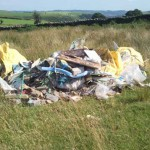 DAMAGE: Fly-tipping has increased by 20% in the last year, according to council figures