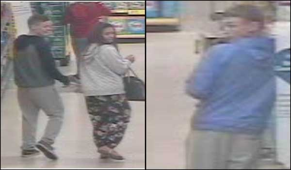 Police want to speak to these people after alcohol was stolen from Tesco in Caerphilly