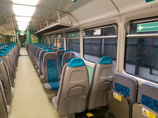 FACELIFT: Arriva Trains Wales has announced it will spend £430,000 on refurbishing the interior of 66 trains