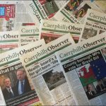 Caerphilly Observer has been nominated for a 2018 Wales Media Award