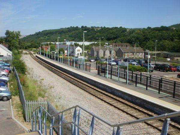 Newbridge Railway Station. Photo by Jaggery