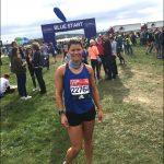 MARATHON: Caroline Rees, a coach at Rhymney Valley AC, finished in 4:34:47